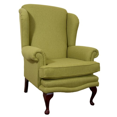 Clarkfield Wingback Chair Astoria Grand Upholstery: Linea
