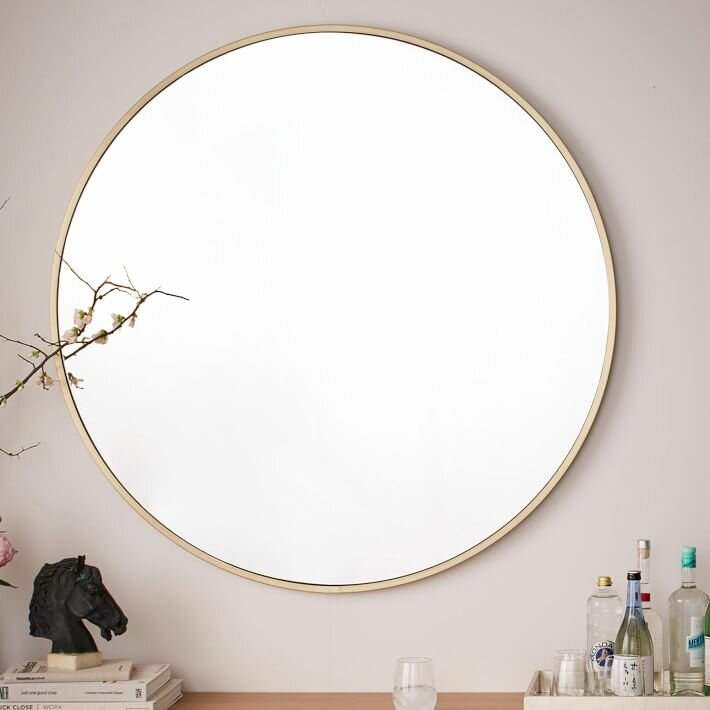 Katsikis Round Accent Wall Mirror