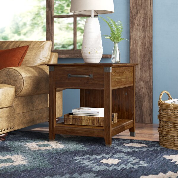 Chappel End Table With Storage By Trent Austin Design
