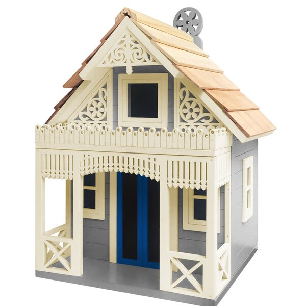 Angel Cottage 6 in x 8 in x 9 in Birdhouse by Home Bazaar