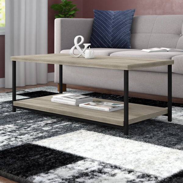 Landis Coffee Table With Tray Top By Mercury Row