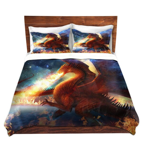 Lord Of The Celestial Dragons Duvet Cover Set