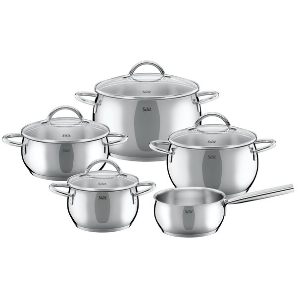 Nobile 9-Piece Cookware Set by WMF Americas
