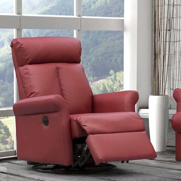 Lynn Power Swivel Recliner by Relaxon