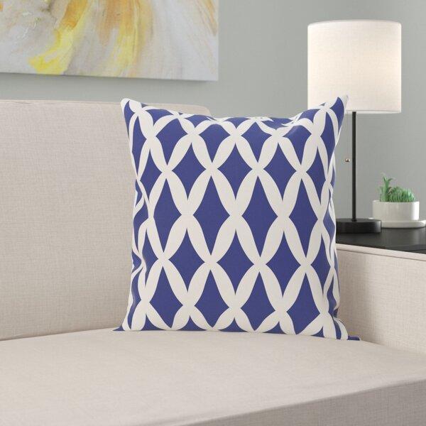 Keshawn Geometric Print Outdoor Pillow by Latitude Run