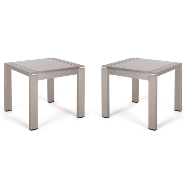 Algona Side Table (Set of 2) by Brayden Studio