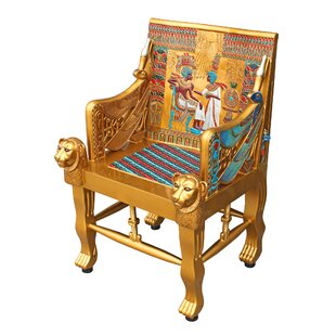 Price Check Egyptian Armchair By Design Toscano