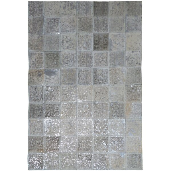 Silver Area Rug by Modern Rugs