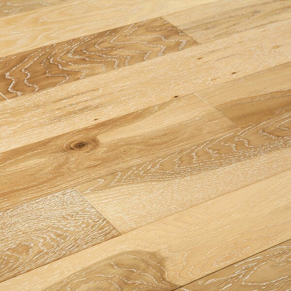 Meraz 5 Engineered Oak Hardwood Flooring in Silk by August Grove