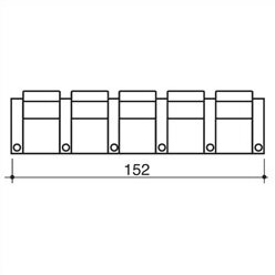 Olympia Home Theater Row Seating (Row Of 5) By Bass