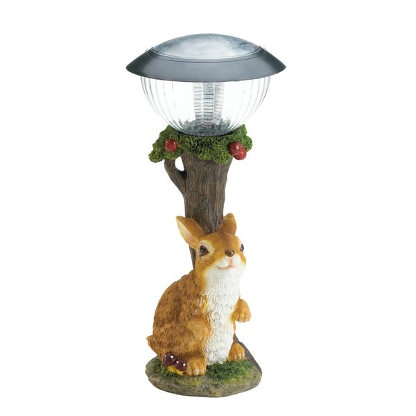 Rabbit Solar Garden 1-Light Pathway Light by Zingz & Thingz