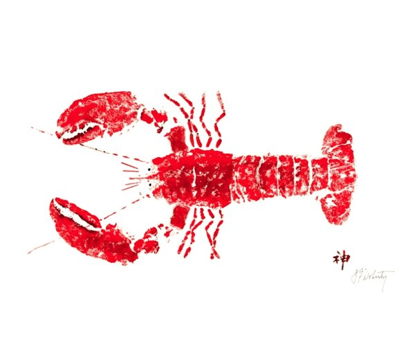 Lobster Placemat (Set of 4) by FishAye Trading Company