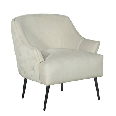 Elle Decor Armchair Cream Chairs