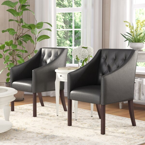 Booth Armchair (Set of 2) by Darby Home Co