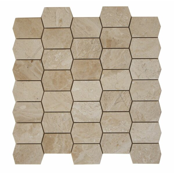 Marble Mosaic Tile in Diana Royal by Ephesus Stones