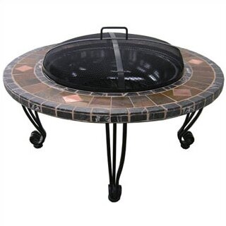 Wrought Iron Wood Burning Fire Pit Table by Uniflame Corporation