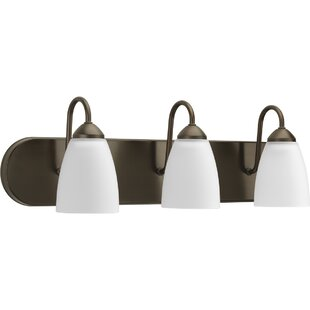 Read Reviews Merrillan 3-Light Vanity Light By Andover Mills