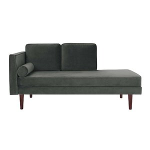 Jabari Mid Century Modern Upholstered Daybed with Mattress by George Oliver