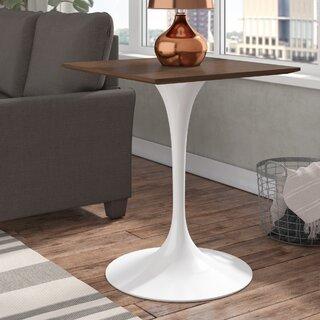 """Julien 24"""" Wood Side Table by Langley Street SKU:BA567784 Guide"""