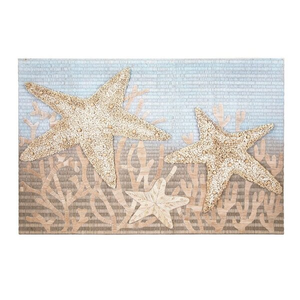 Flourishing Starfish Wall Décor by Rosecliff Heights