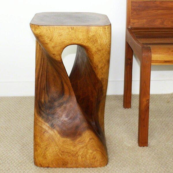 Lawhon Single Twist Vine End Table by Union Rustic