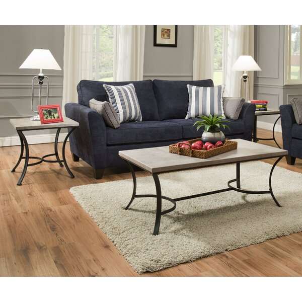 Washer Occasional 3 Piece Coffee Table Set by Lati