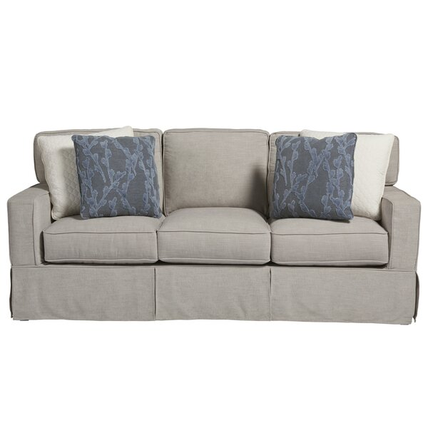 Chatham Crypton 82 inches Square Arms Sofa by Coastal Living by Universal Furniture Coastal Living™ by Universal Furniture