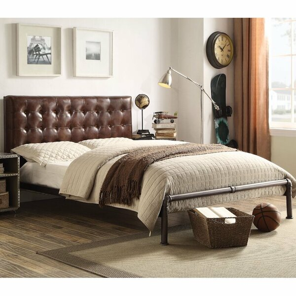 Wisner Queen Upholstered Platform Bed by 17 Stories