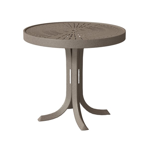LaStratta Metal Side Table by Tropitone
