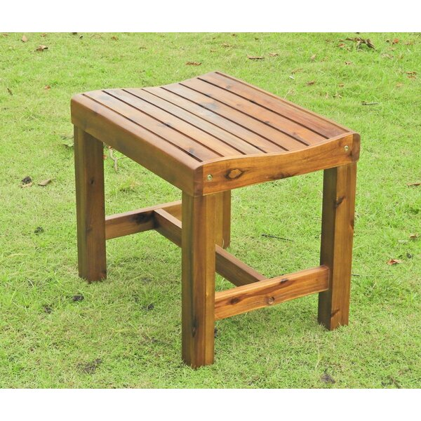 Resaca Wooden Picnic Bench by Millwood Pines