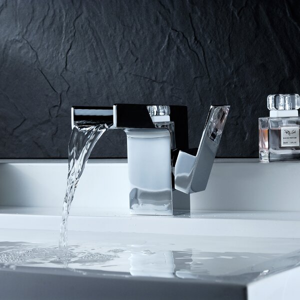 Zhona Single Hole Bathroom Faucet with Drain Assembly by ANZZI