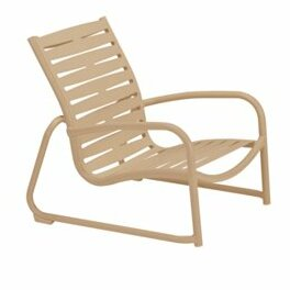 Millennia EZ Span™ Ribbon Segment Patio Chair by Tropitone