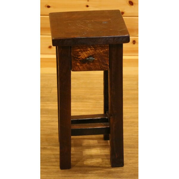 Bechtold Timber Peg 1 Drawer Nightstand By Millwood Pines by Millwood Pines Today Sale Only