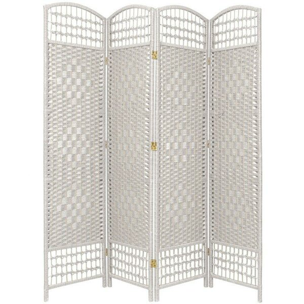 Stogner 4 Panel Room Divider by Bay Isle Home