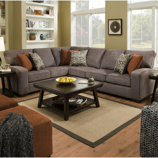 Offers Saving Henton Left Hand Facing Sectional by Alcott Hill by Alcott Hill
