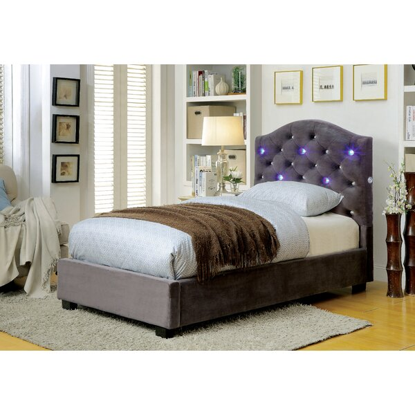 Rutz Upholstered Standard Bed by House of Hampton