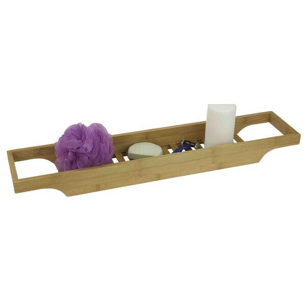 Bamboo Bath Caddy by Home Basics