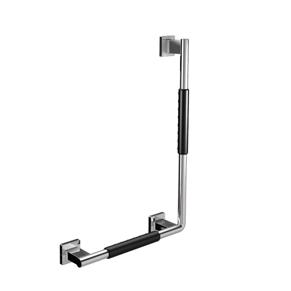 System Left Corner Grip Grab Bar by WS Bath Collections