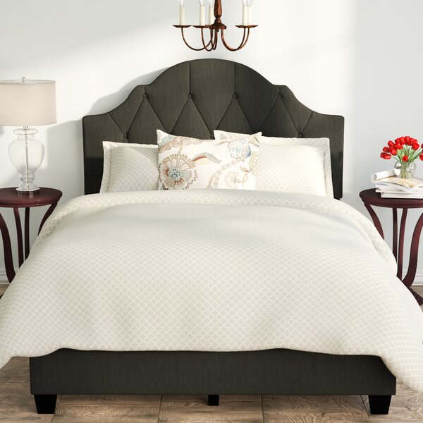 Upholstered Panel Bed By Birch Lane.