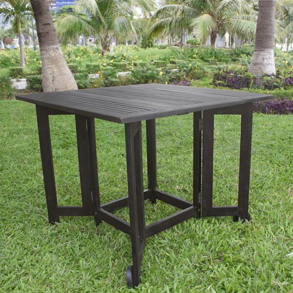 Lidiya Extendable/Folding Wooden Dining Table by Breakwater Bay