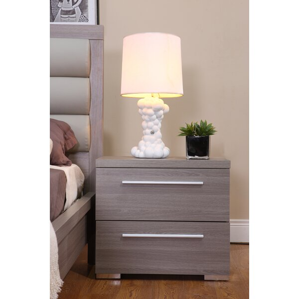 Keighley 2 Drawer Nightstand by Orren Ellis