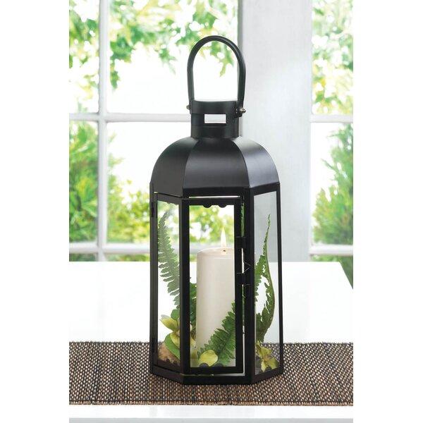 Capitol Iron and Glass Lantern by Zingz & Thingz