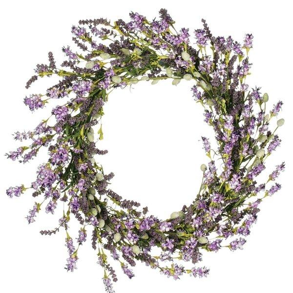 Lavender Berry 22 Styrofoam Wreath by Ophelia & Co.
