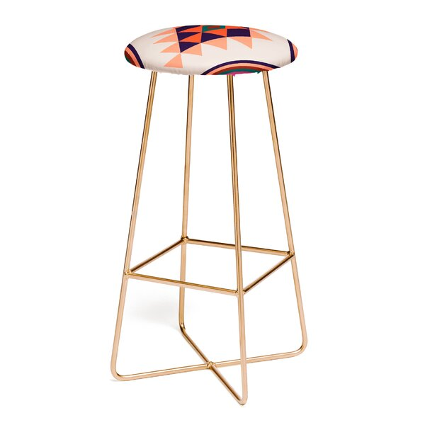 Wesley Bird Desert Sunrise 30 Bar Stool by East Urban Home