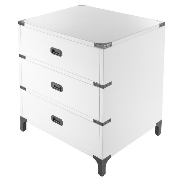 Ferro 3 Drawer Nightstand by Eichholtz
