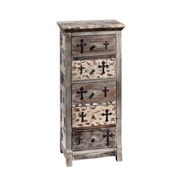Gothic Sanctuary 5 Drawer Chest by Design Toscano