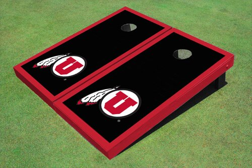 NCAA 10 Piece Matching Border Cornhole Board Set by All American Tailgate