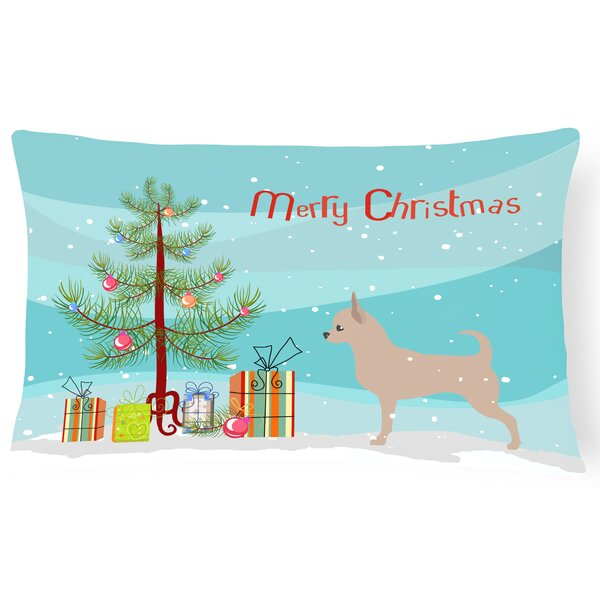 Chihuahua Indoor/Outdoor Lumbar Pillow by The Holiday Aisle
