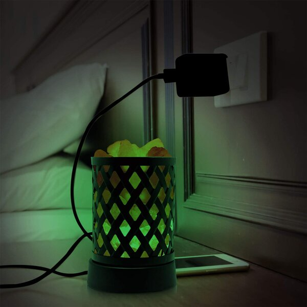 Himalayan Glow Night Light with Multi-color USB by WBM LLC