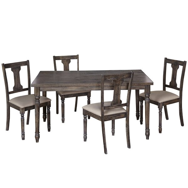Remy 5 Piece Dining Set by Ophelia & Co.